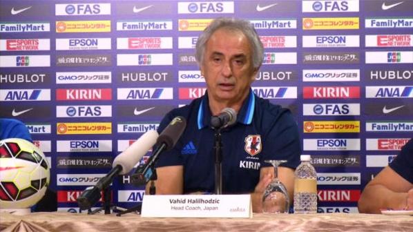 Vahid Halilhodzic limogé de son poste de sélectionneur du Japon