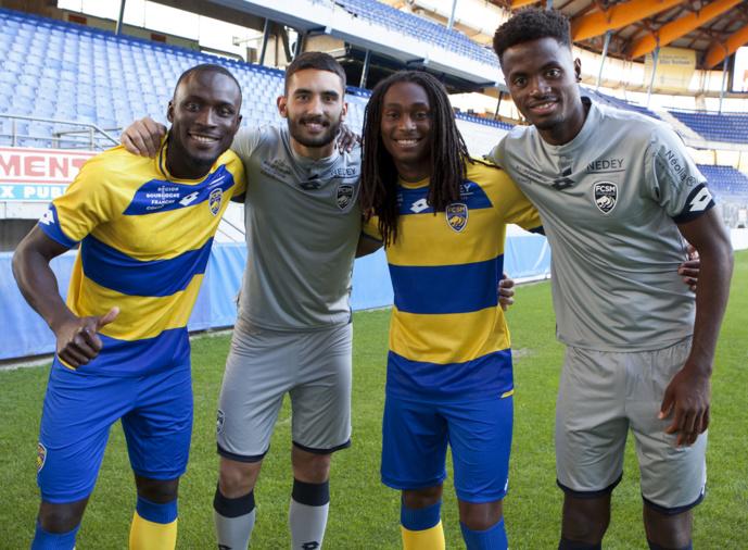 Nouveaux maillots FC Sochaux-Montbéliard 2018-2019