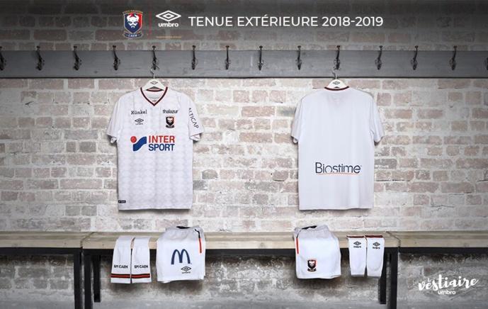 Umbro dévoile le nouveau kit away 2018/2019 du Stade Malherbe de Caen