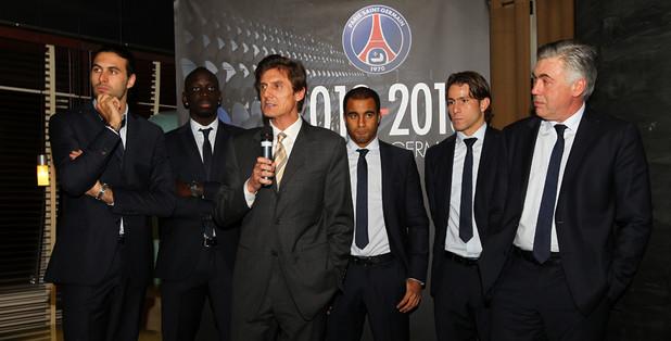 Frédéric Longuépée, ex directeur général adjoint en charge des activités commerciales au PSG - Crédit : Paris Fans