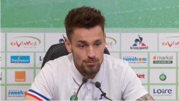 Mathieu Debuchy a retrouvé le plaisir de jouer à l'ASSE