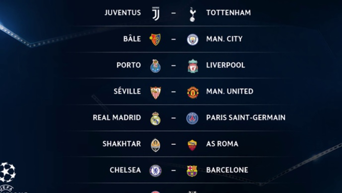 Nos pronostics pour les 8es de finale de la Ligue des Champions