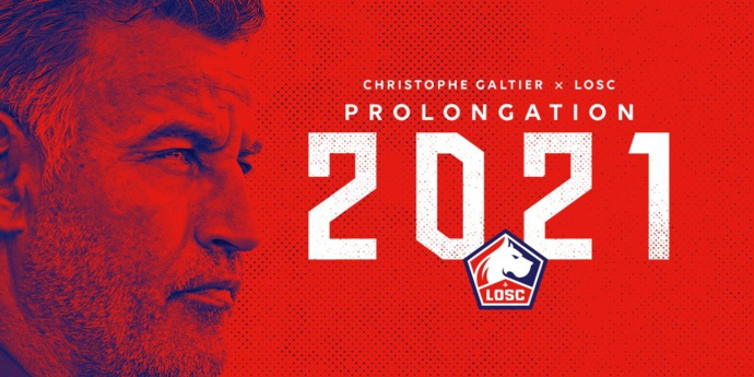 LOSC : Christophe Galtier prolonge jusqu'en 2021