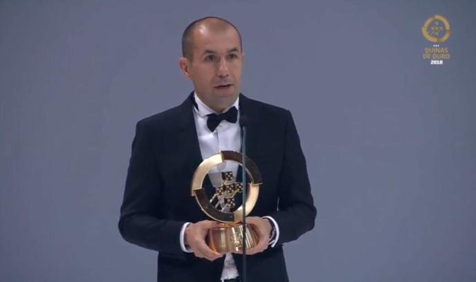 Leonardo Jardim, meilleur entraîneur portugais de l'année 2017
