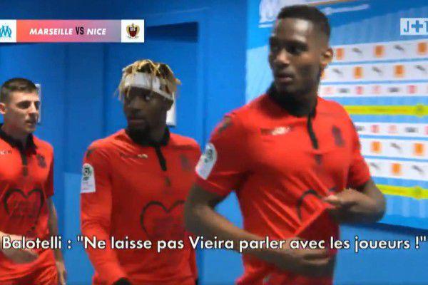 OM - OGC Nice : Christophe Herelle allume Mario Balotelli