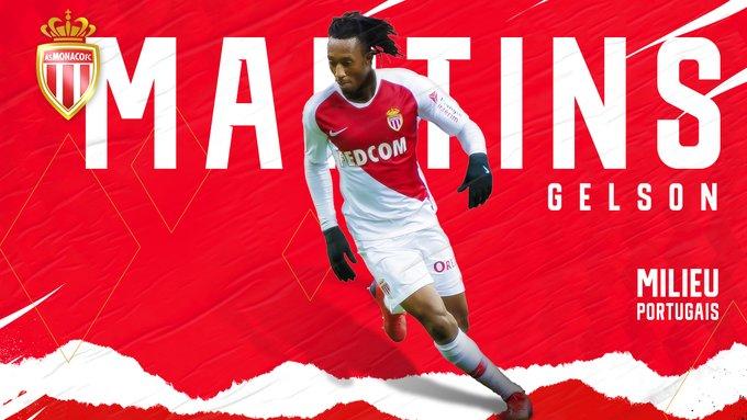 Gelson Martins parti pour rester du côté du Rocher — AS Monaco