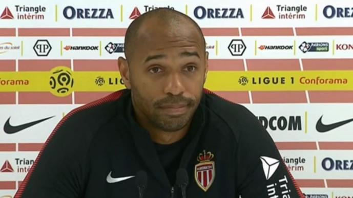 AS Monaco : un Thierry Henry au fond du trou