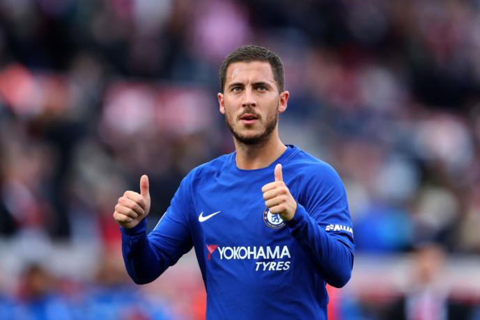Chelsea : Maurizio Sarri pessimiste au sujet d'Eden Hazard