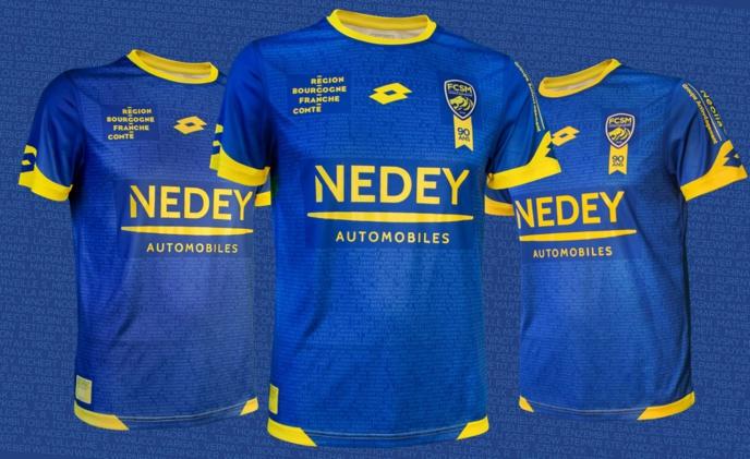 Lotto et le  FC Sochaux-Montbéliard présentent un maillot inédit pour les 90 ans du Club