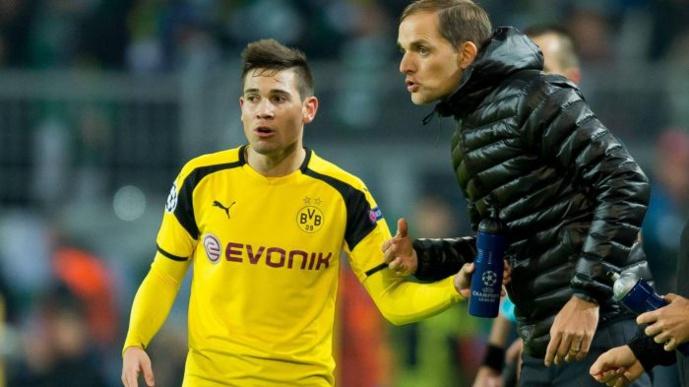 Raphaël Guerreiro et Thomas Tuchel : Crédit Eurosport