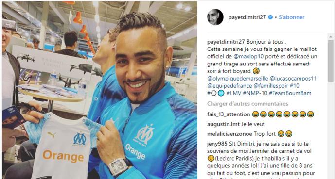 OM : Dimitri Payet qui troll Maxime Lopez