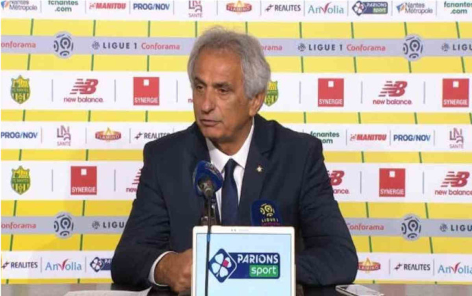 FC Nantes - PSG : Vahid Halilhodzic ne sera pas sur le banc