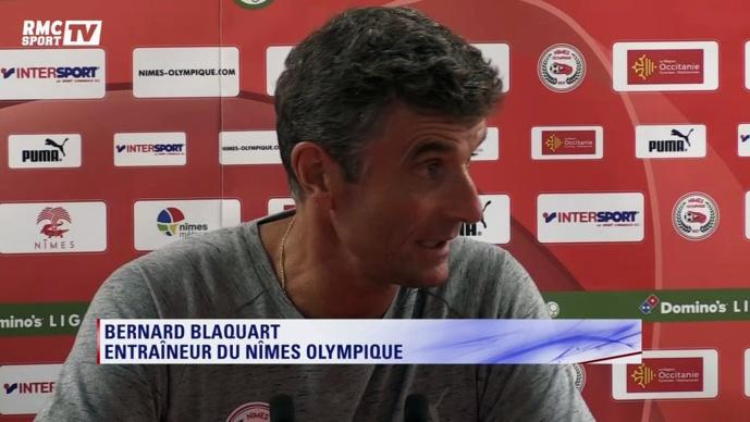Nîmes : Blaquart laisse planer le doute au sujet de son avenir