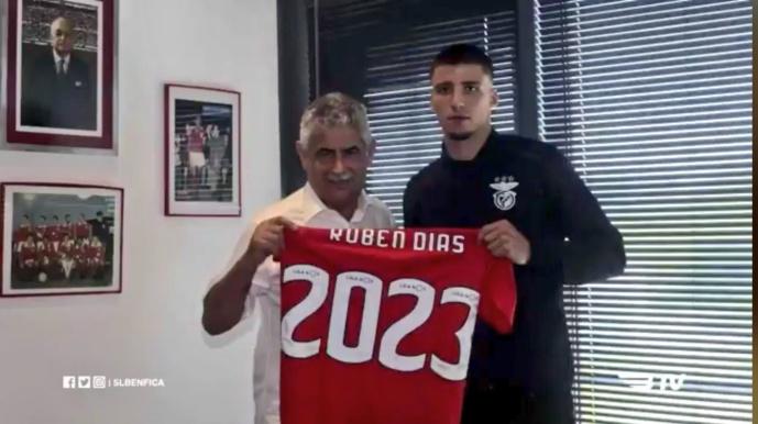 Manchester United et la Juventus veulent Ruben Dias (Benfica)