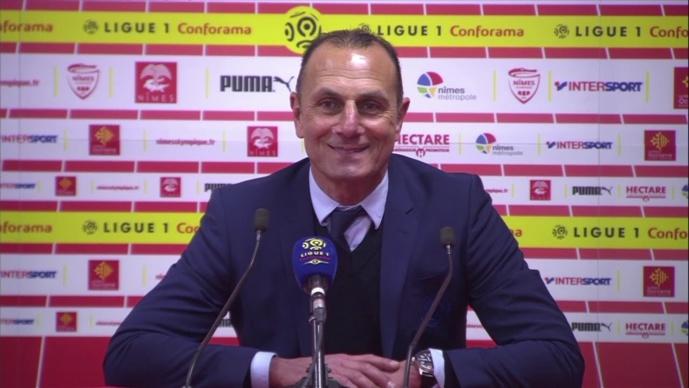 FC Nantes : Der Zakarian (MHSC) glisse un tacle Kita en parlant de Nicollin
