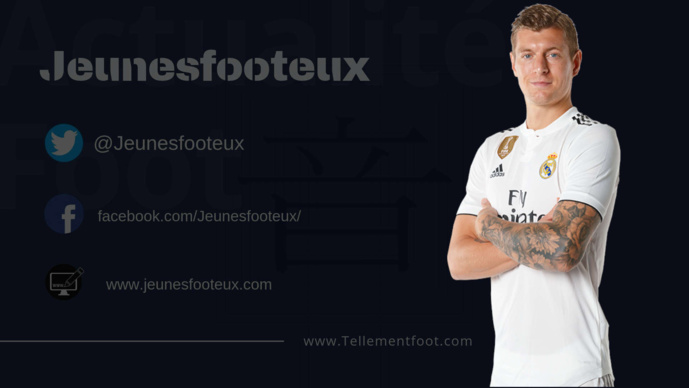 Real Madrid : Toni Kroos prolonge jusqu'en 2023
