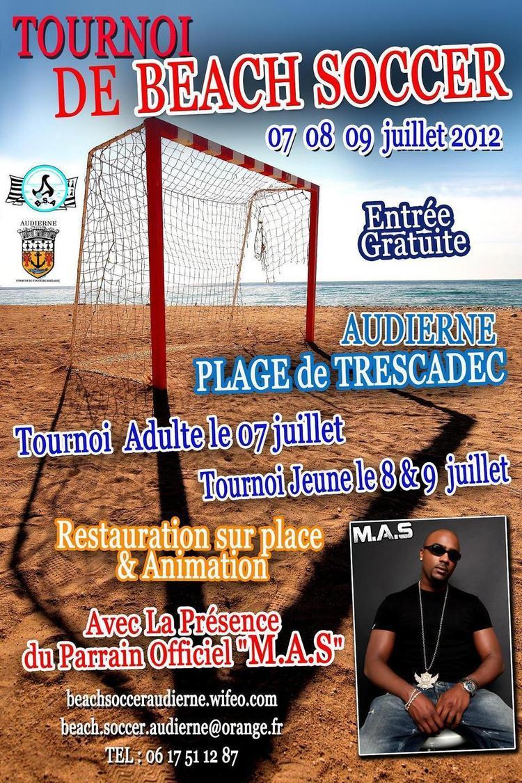 Tournoi Beach Soccer le 7 - 8 et 9 juillet 2012