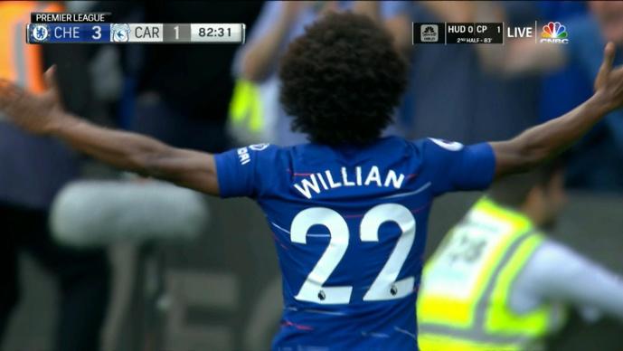 Chelsea repousse une offre du Barça pour Willian