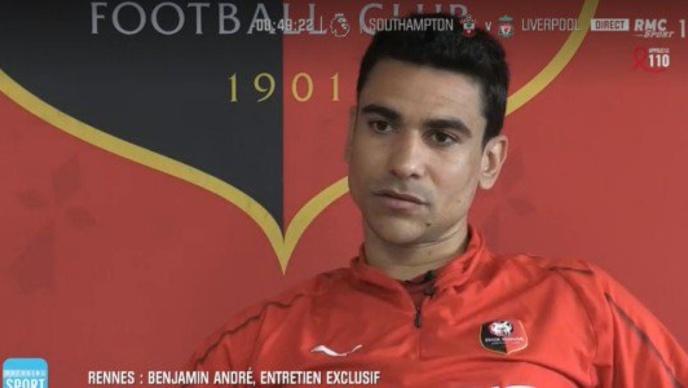 Lille d'accord avec Rennes pour le transfert de Benjamin André