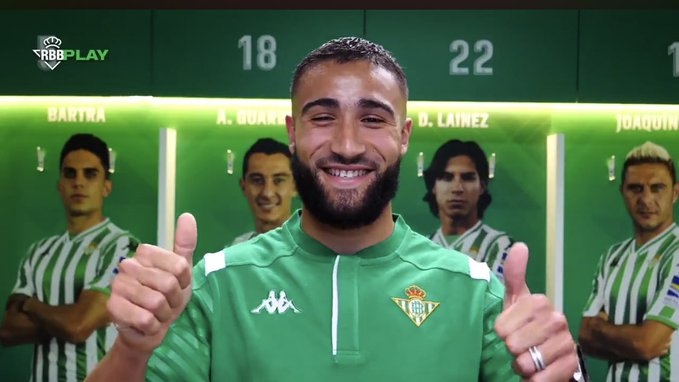 Nabil Fekir - Site officiel du Betis Séville