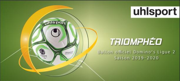 Uhlsport présente Triomphéo, ballon officiel de la Domino's Ligue 2