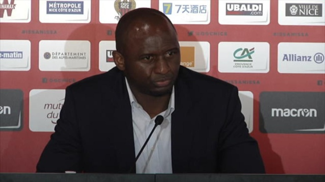 OGC Nice : Patrick Vieira pousse un gros coup de gueule