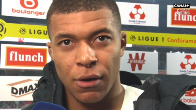 PSG : Kylian Mbappé du Paris SG