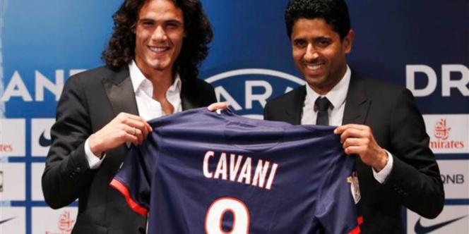 PSG - Mercato : Edinson Cavani du Paris SG