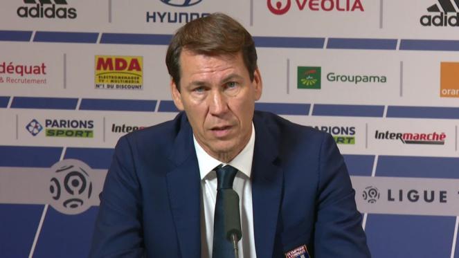 OL : Rudi Garcia, entraîneur de l' Olympique Lyonnais