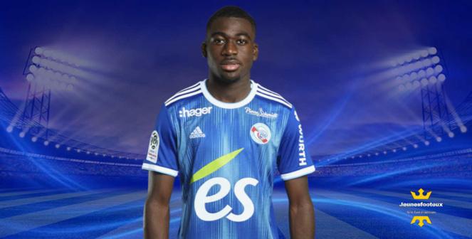 Youssouf Fofana : milieu de terrain du RC Strasbourg