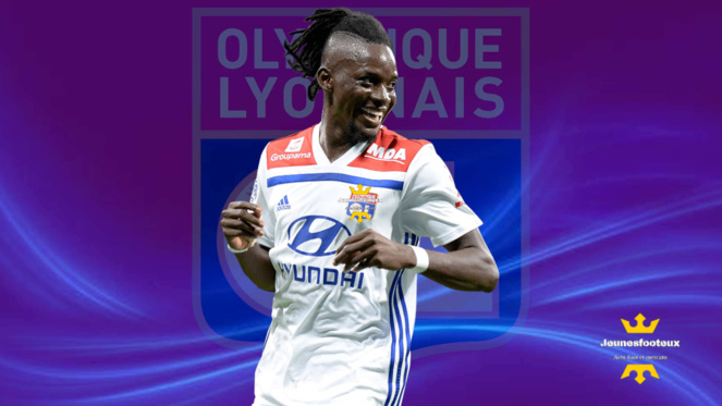 OL Mercato : Bertrand Traoré, attaquant de l' Olympique Lyonnais