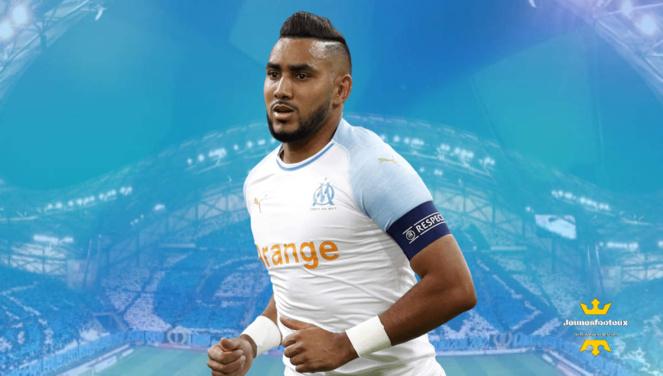 Dimitri Payet : milieu offensif international français de l' Olympique de Marseille