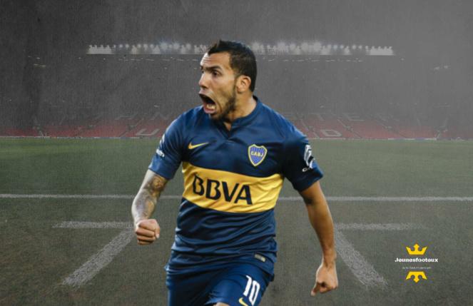 Carlos Tevez : attaquant argentin de Boca Juniors