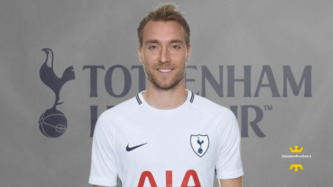 Christian Eriksen : milieu de terrain international danois de Tottenham