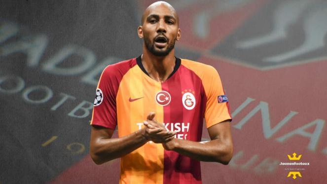 Steven Nzonzi : milieu de terrain international français prêté par l' AS Rome à Galatasaray