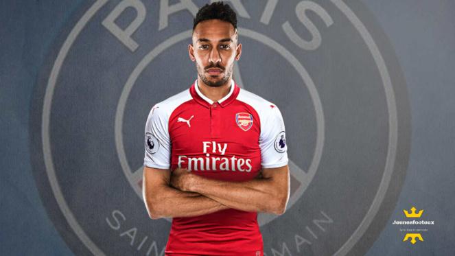 Pierre-Emerick Aubameyang : attaquant international gabonais d' Arsenal