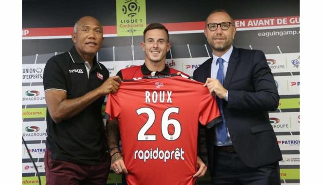Officiel : Nolan Roux quitte Guingamp pour Nîmes