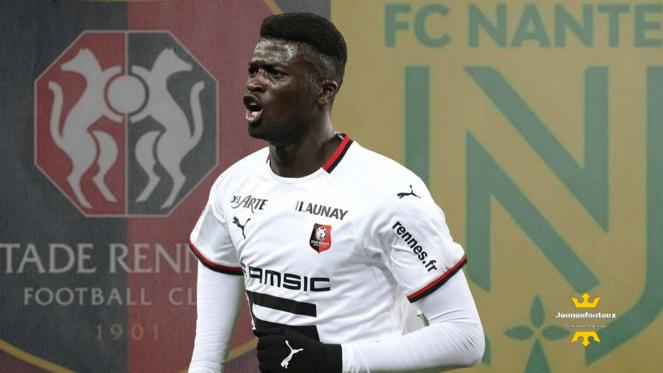 Stade Rennais - FC Nantes : Mbaye Niang