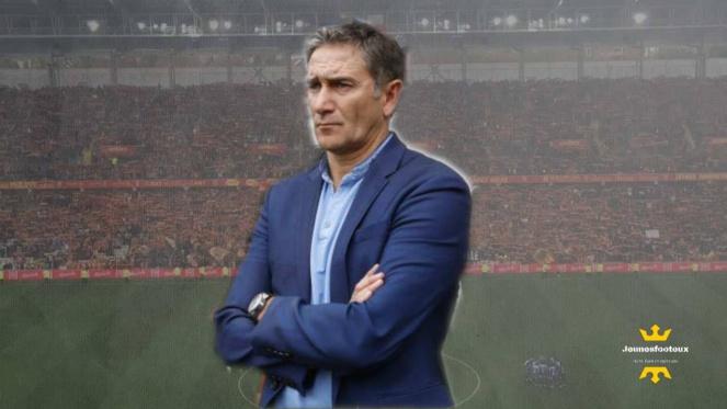 RC Lens - Grenoble : Philippe Montanier