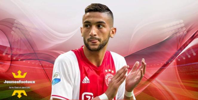 Chelsea, Arsenal PSG Mercato : Hakim Ziyech (Ajax)