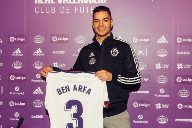 Real Valladolid : Hatem Ben Arfa