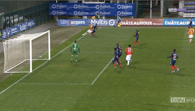 Châteauroux - RC Lens : Ligue 2