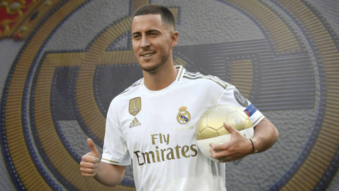 Real Madrid : Eden Hazard