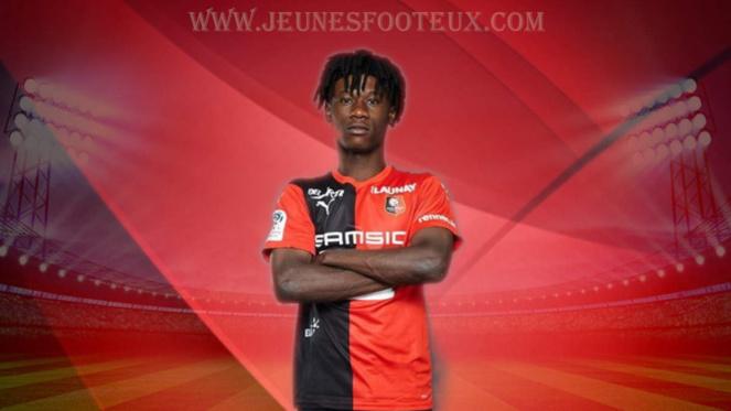 Stade Rennais, Rennes, SRFC : Eduardo Camavinga