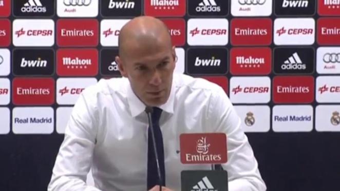 Real Madrid - Manchester CIty : Zidane