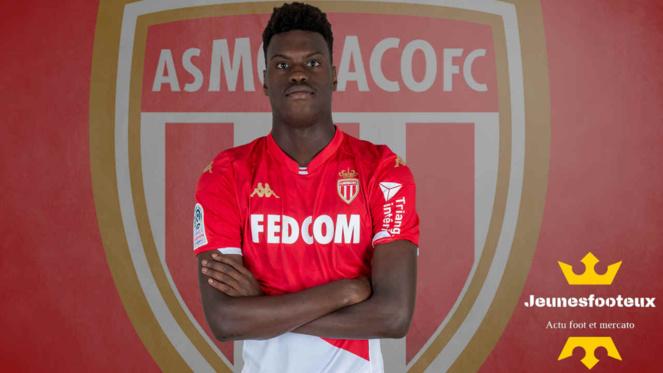 Monaco - Reims : Benoit Badiashile