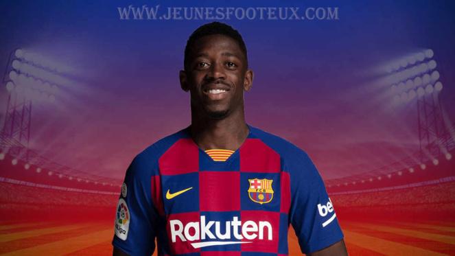 FC Barcelone - Barça : Ousmane Dembélé