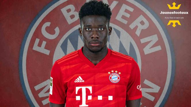 Bayern Munich, Man United - Mercato : Alphonso Davies