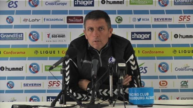 RC Strasbourg - Thierry Laurey entraîneur du RCSA