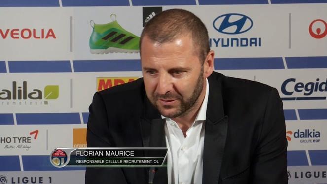 Rennes, OL - Mercato : Florian Maurice